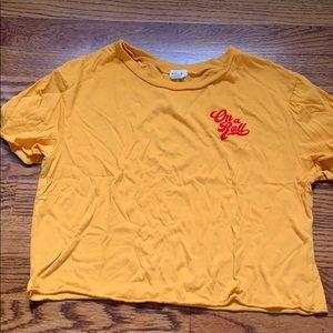 Garage Cropped T-Shirt